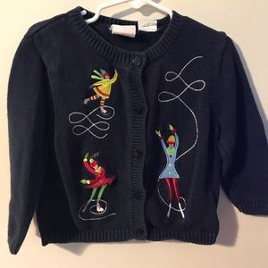 Little Goodies Girls I've Skaters Sweater Size 3T